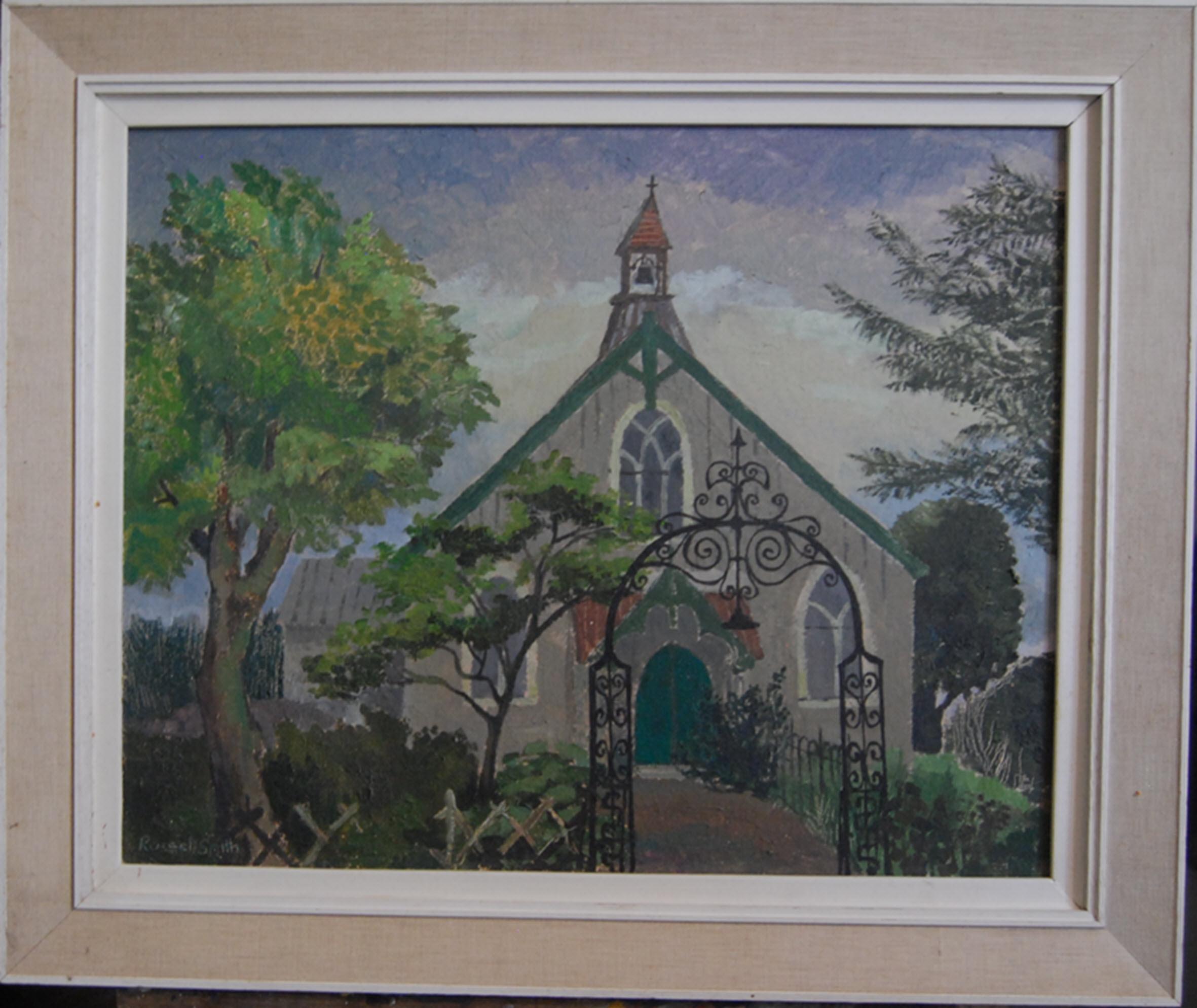 Towards the Chapel