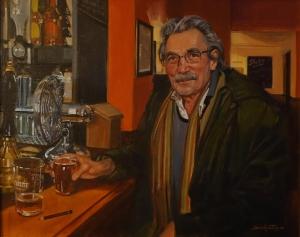 The Regular by David Goatley. Portrait of Garnet Frost